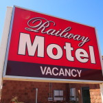 Railway Hotel Condobolin Sign