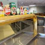 Beer on Tap at the Railway Hotel